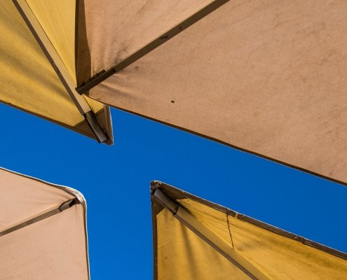 A Piece Of Sky - Altea, Spain - Photography Artwork