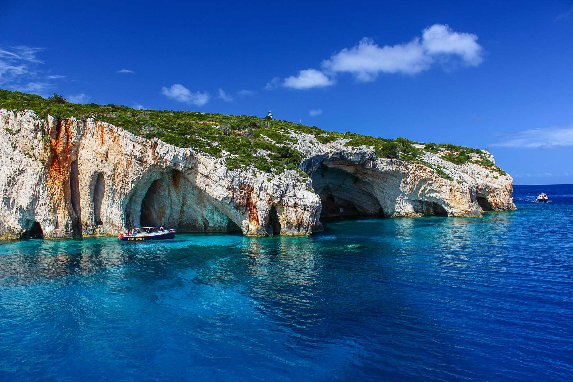 Blue Caves - Zakynthos Island, Greece - Photography Artwork
