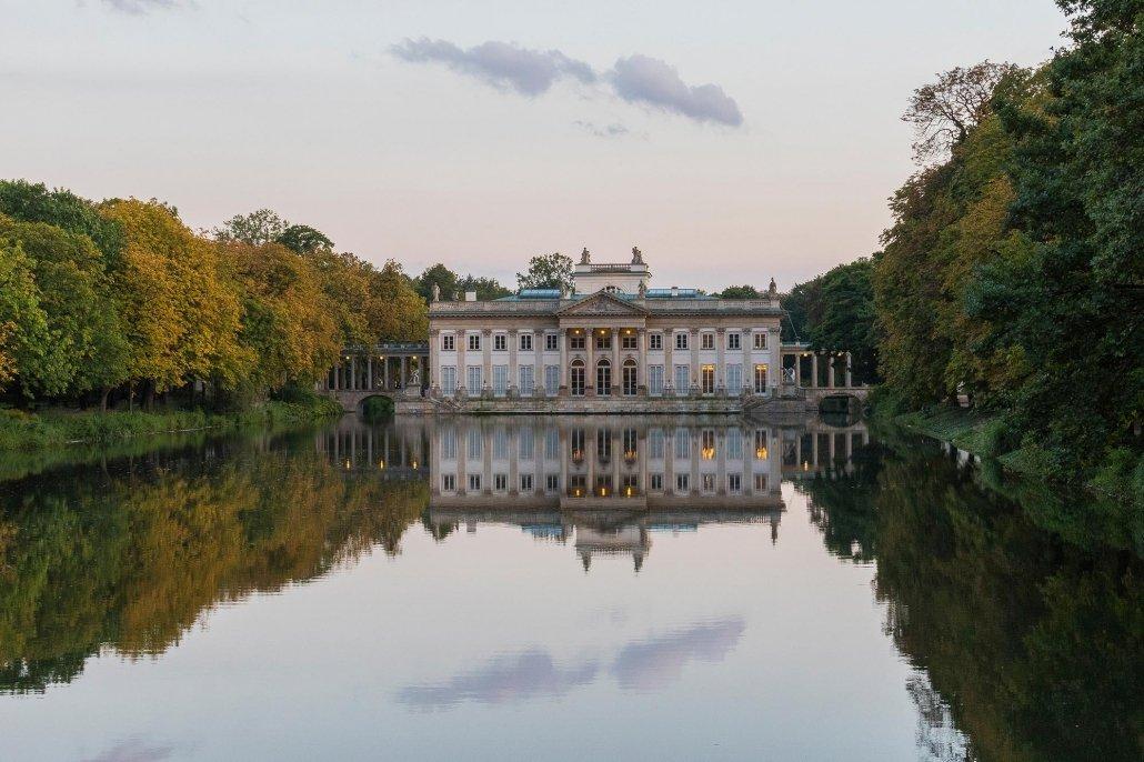 Lazienki Palace - Warsaw, Poland - Photography Artwork