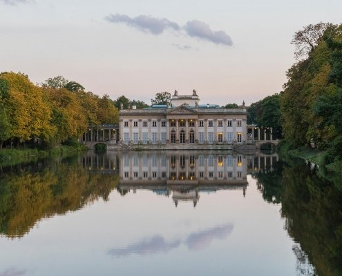 Lazienki Palace - Warsaw, Poland - Photography Artwork