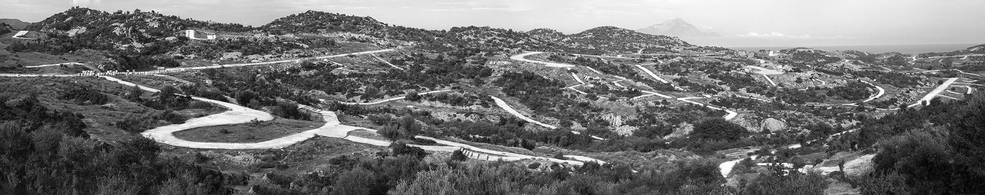 Roads and Ways 2 - Sithonia, Greece