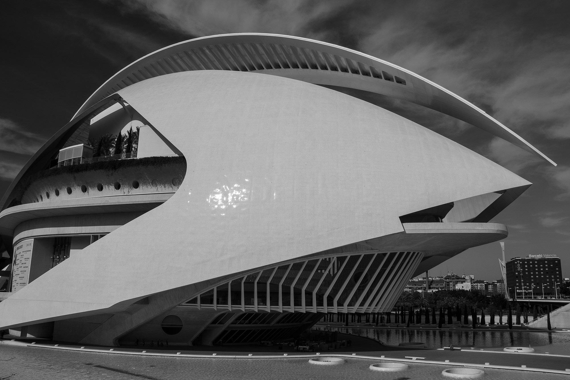 Spaceship - Valencia, Spain