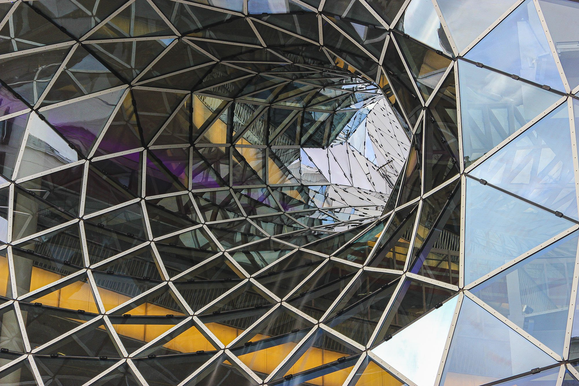 Vortex - My Zeil Shopping Center, Frankfurt, Germany