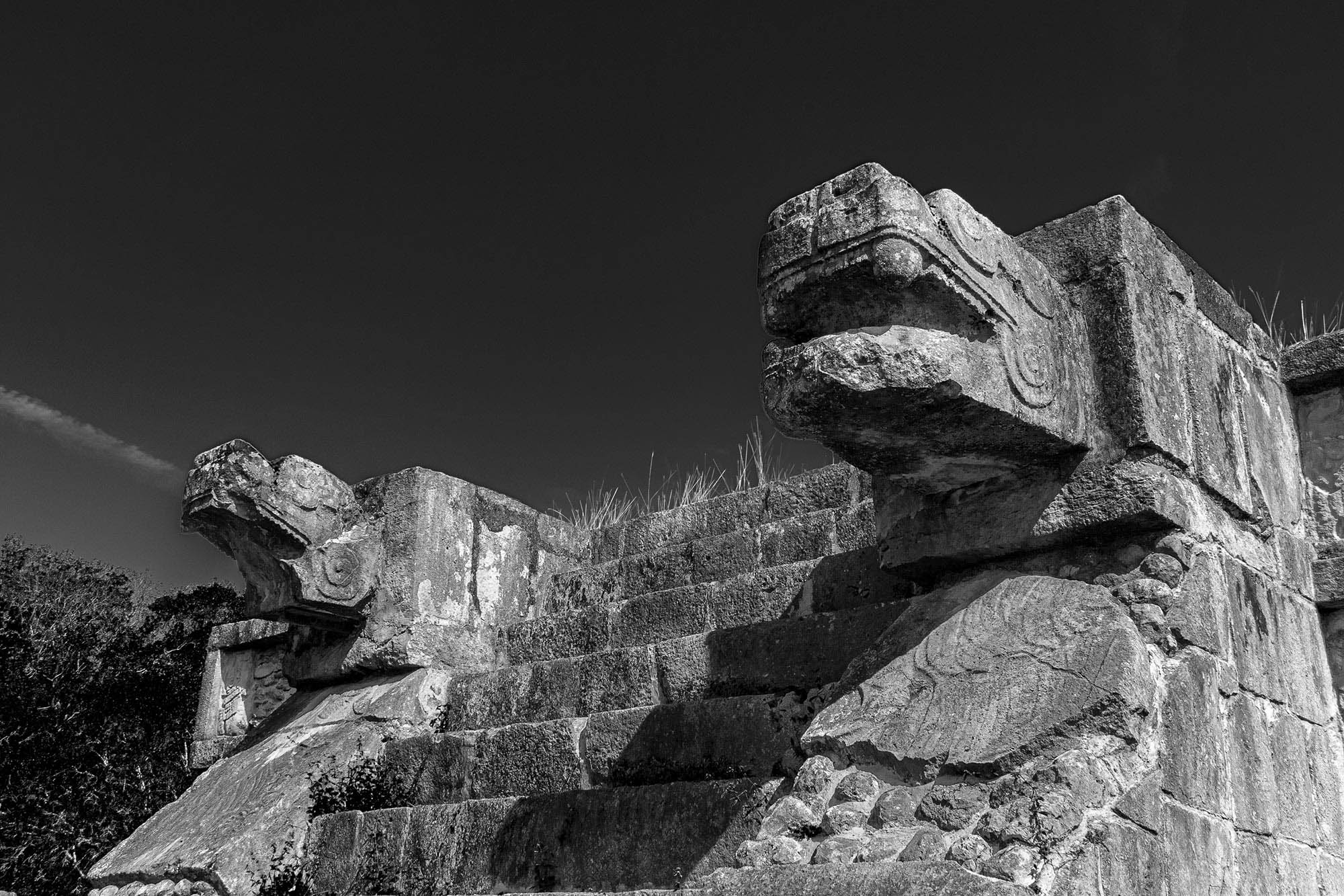 The Platform of the Eagles and Jaguars in Chichen Itza