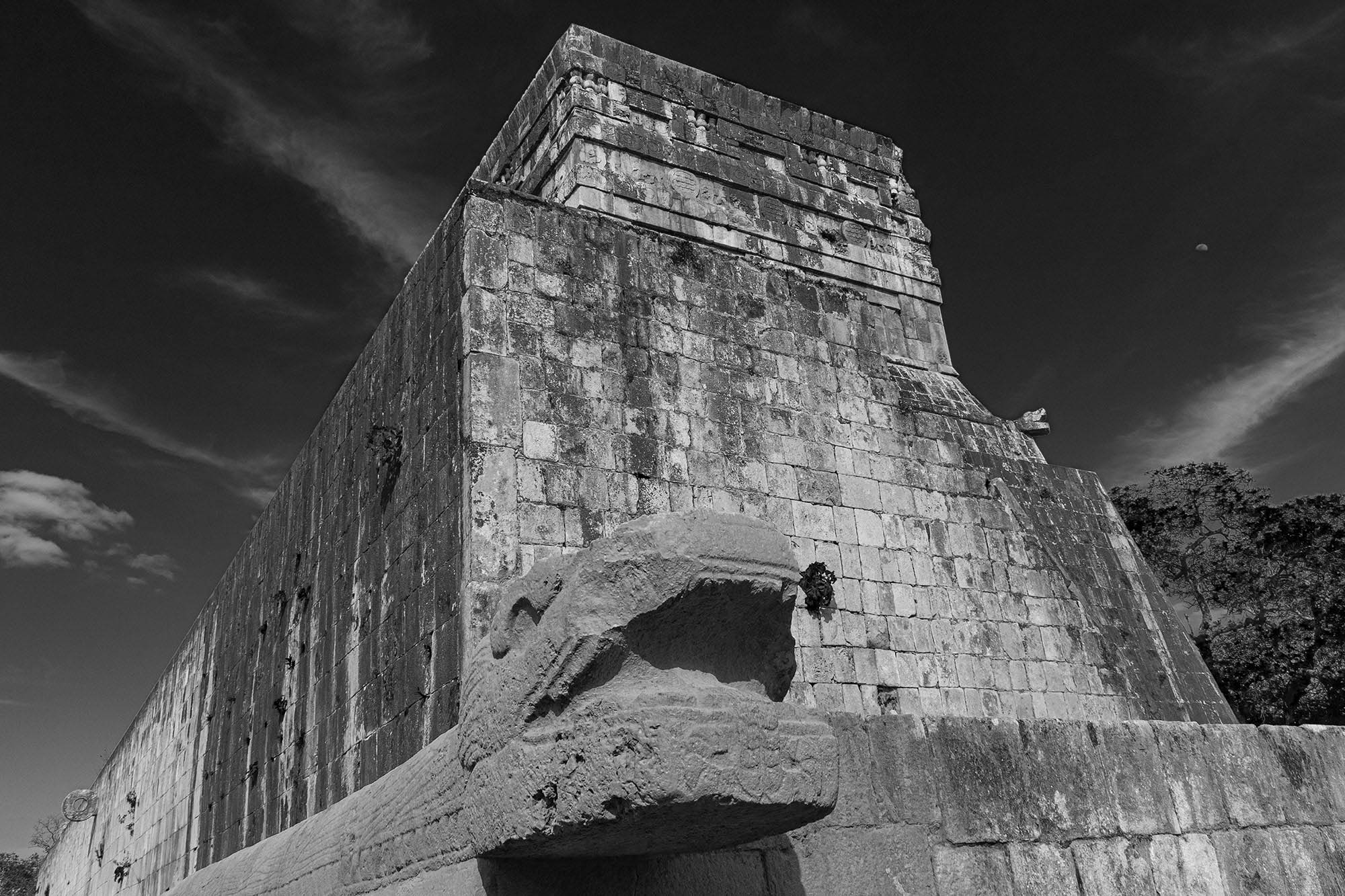 The Temple of the Jaguars in Chichen Itza