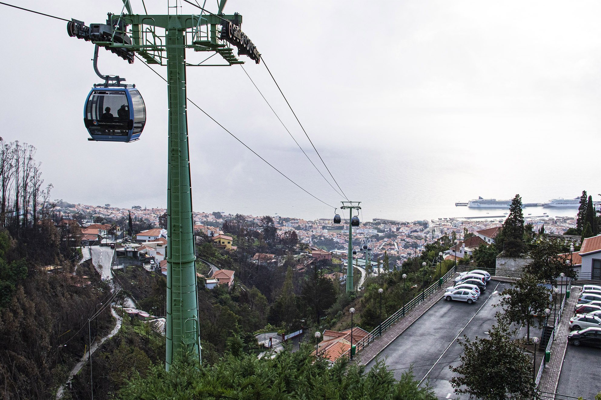 Cable Car Terrace View