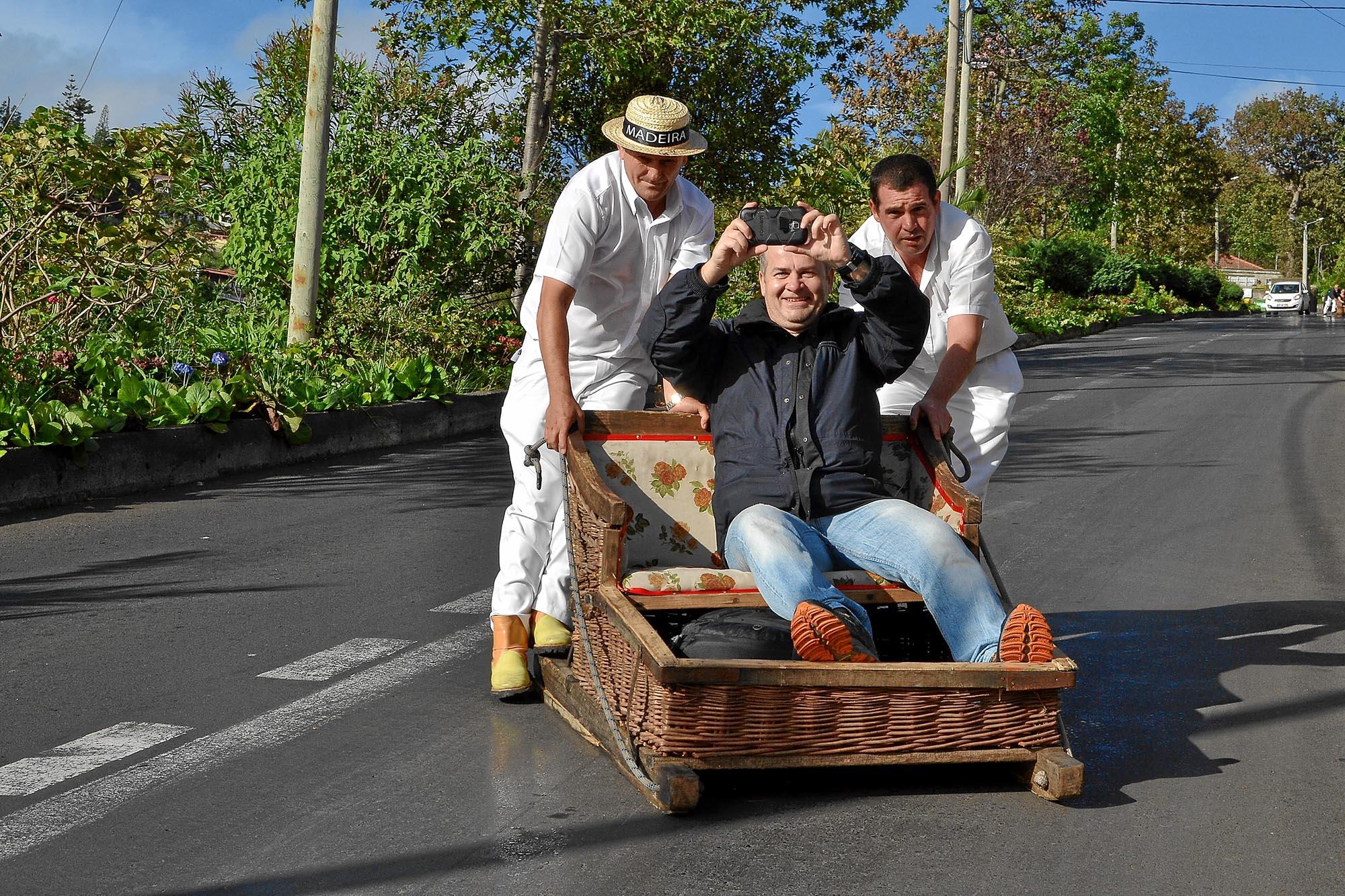 Dancho's toboggan ride